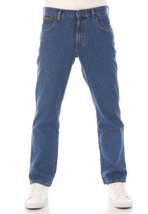 TEXAS STRETCH - Straight leg jeans - blue tomorrow