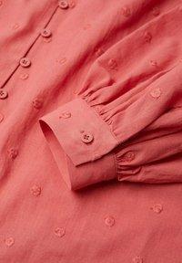 Mango - Button-down blouse - aardbeirood - 5