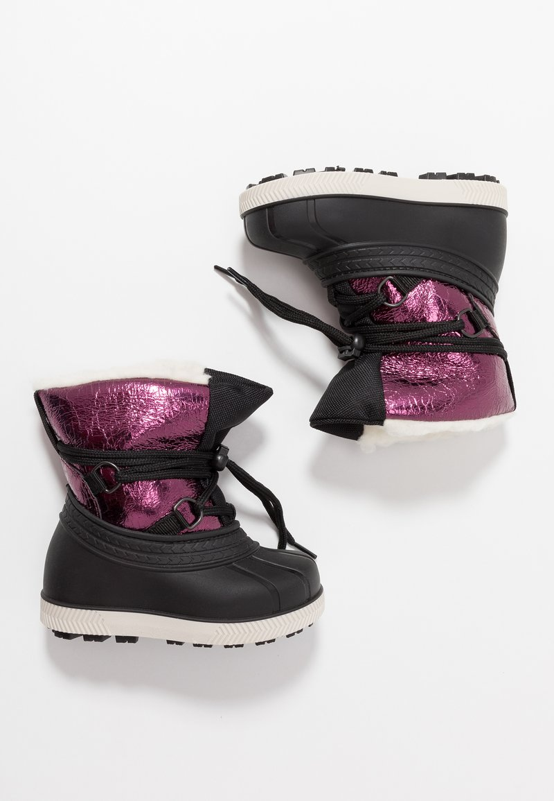 Friboo - Winter boots - black/berry