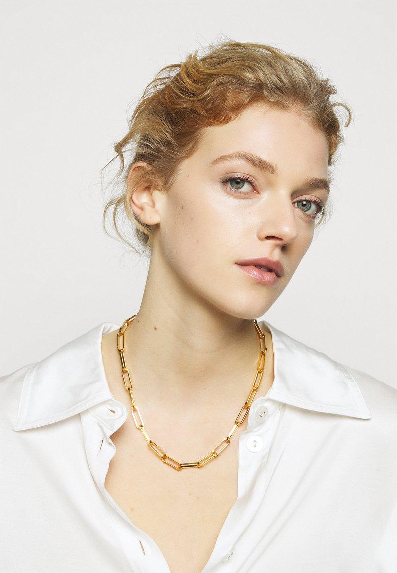 Hermina Athens - ZENA NECKLACE - Necklace - gold-coloured