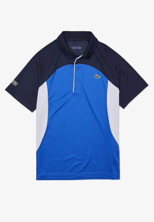 Polo - blau / weiß / navy blau / weiß