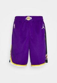 Nike Performance - NBA LA LAKERS SWINGMAN SHORT - Club wear - field purple/white - 0