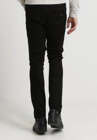 Nudie Jeans - LEAN DEAN - Slim fit jeans - dry cold black - 3