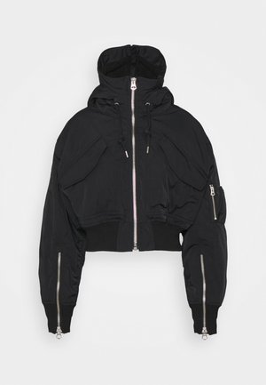 JACKET - Light jacket - black solid