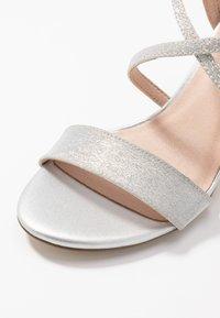 Menbur - Sandály na vysokém podpatku - silver - 2