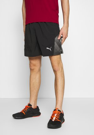 "LAST LAP 7"" GRAPHIC SHORT - Sports shorts - black"