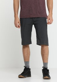 Houdini - WAY TO GO SHORTS - Sports shorts - rock black - 0