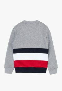 Tommy Hilfiger - GLOBAL STRIPE COLORBLOCK  - Sweater - grey - 1
