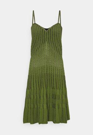 DELTAPLANO ABITO - Gebreide jurk - khaki