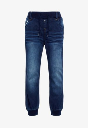 Jeans Tapered Fit - dark blue denim
