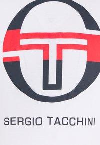 sergio tacchini - IBERIS - Print T-shirt - white/navy/red - 2