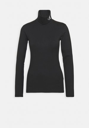 NECK ROLL NECK - Topper langermet - black