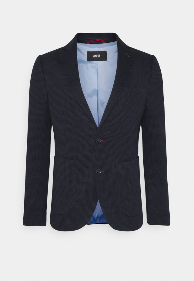 DATI JACKET - Blazer - dark blue
