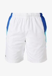 Lacoste Sport - TENNIS - Sports shorts - white/obscurity haiti/blue lemon - 4