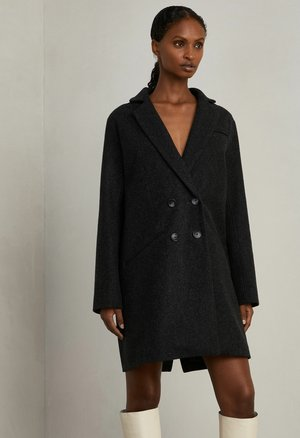 STELLA - Short coat - charcoal