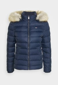 Tommy Jeans - BASIC - Chaqueta de plumas - twilight navy - 7