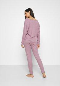 GAP - FOLDOVER  - Pyjamabroek - elderberry - 2