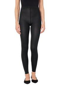 Wolford - VELVET - Leggings - Trousers - black - 1