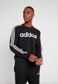 adidas Performance - CREW  - Sweatshirt - black/white - 0