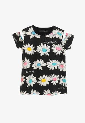 MARSELLA - Print T-shirt - black