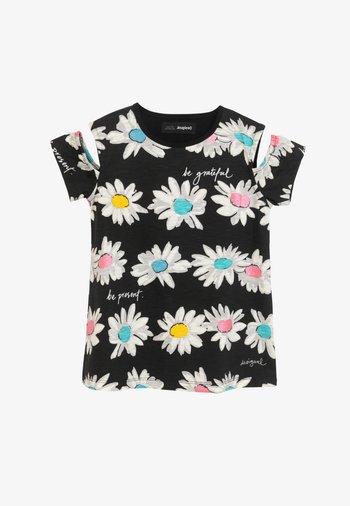 MARSELLA - Print T-shirt - black