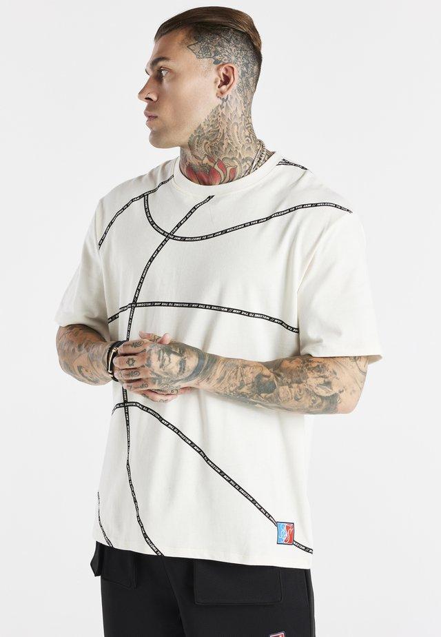SPACE JAM BASKETBALL GRAPHIC TEE - T-shirt con stampa - ecru