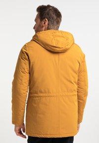 DreiMaster - Winter coat - senf - 2