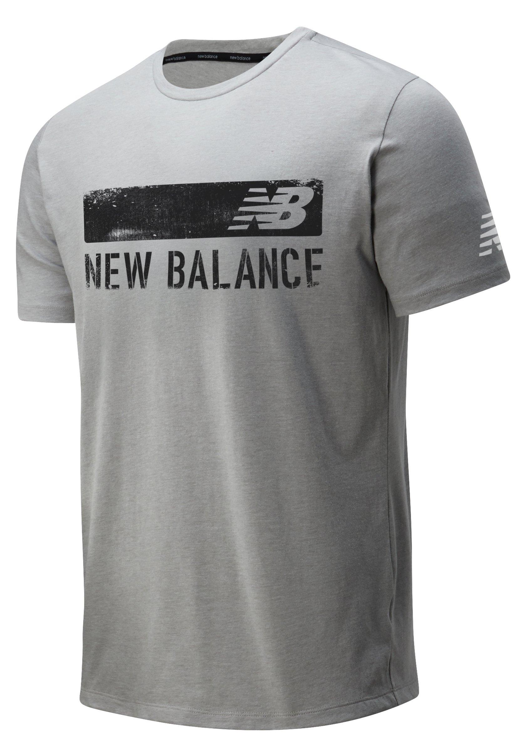 Uomo GRAPHIC HEATHERTECH - T-shirt con stampa
