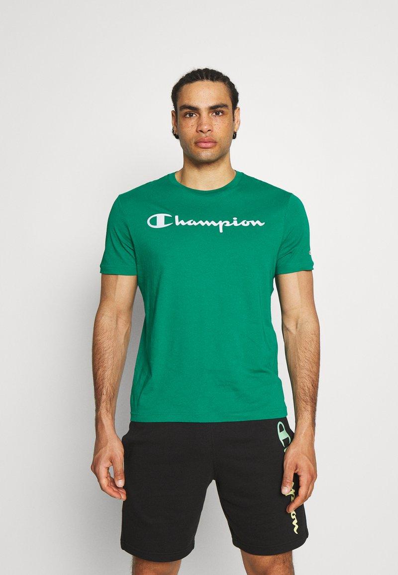 Champion - CREWNECK  - T-shirt con stampa - green