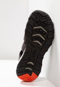 Keen - NEWPORT NEO H2 - Walking sandals - magnet/spicy orange - 5
