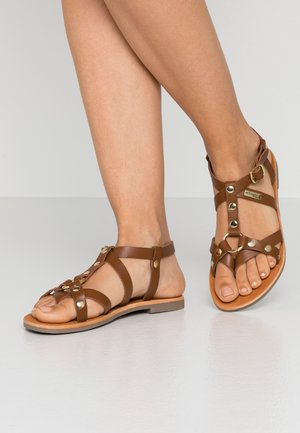 DIAC - T-bar sandals - tan