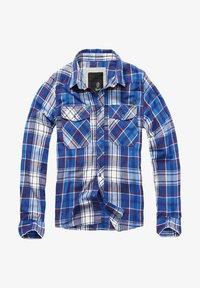 Brandit - HERREN CHECKSHIRT - Shirt - navy - 5