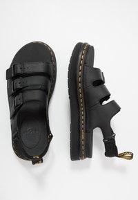 Dr. Martens - SOLOMAN 3 STRAP - Sandals - black - 1