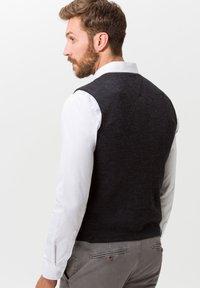 BRAX - STYLE WADE - Suit waistcoat - anthra - 2