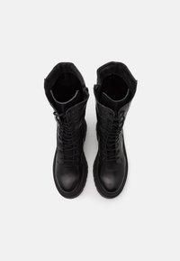 Zign - Platform ankle boots - black - 5