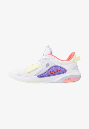 JOYRIDE  - Sneakersy niskie - white/bright crimson/atomic violet/pale vanilla/luminous green