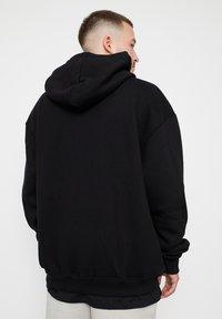 Multiply Apparel - Zip-up sweatshirt - black - 1