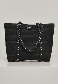 Urban Classics - URBAN CLASSICS ACCESSOIRES WORKER SHOPPER BAG - Tote bag - black - 0