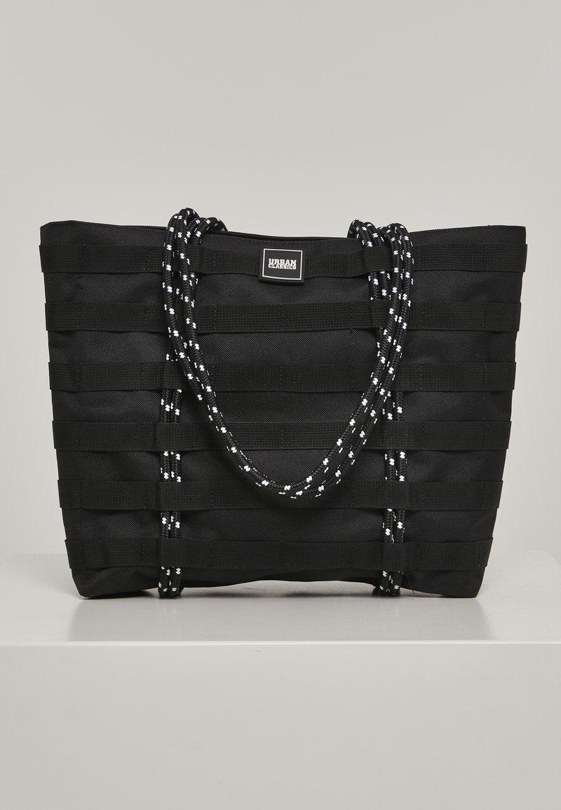 Urban Classics - URBAN CLASSICS ACCESSOIRES WORKER SHOPPER BAG - Tote bag - black