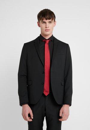 Tie - open red