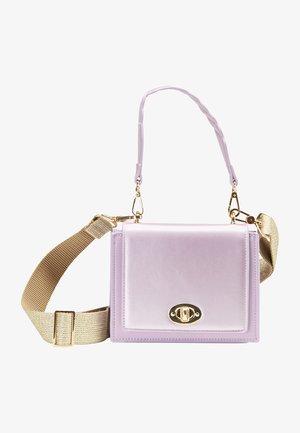 Handbag - flieder metallic