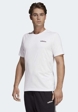 ESSENTIALS PLAIN T-SHIRT - T-shirts basic - white