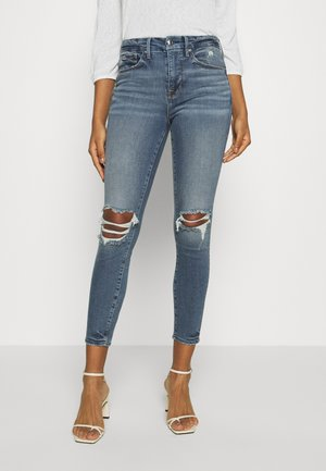 GOOD LEGS CROP - Skinny džíny - blue