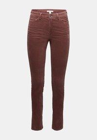 Esprit - Trousers - dark mauve - 7