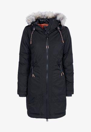 JACKE - Short coat - schwarz