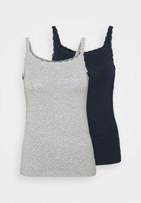 2 PACK - Undershirt - grey mix