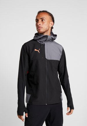 PRO JACKET - Training jacket - puma black/nrgy red