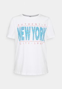 IDA TEE - Print T-shirt - offwhite