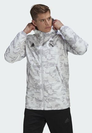 REAL MADRID CNY PAD JK - Veste de survêtement - white dshgry