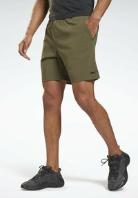 Reebok - UNITED BY FITNESS EPIC+ - Pantalón corto de deporte - green - 0